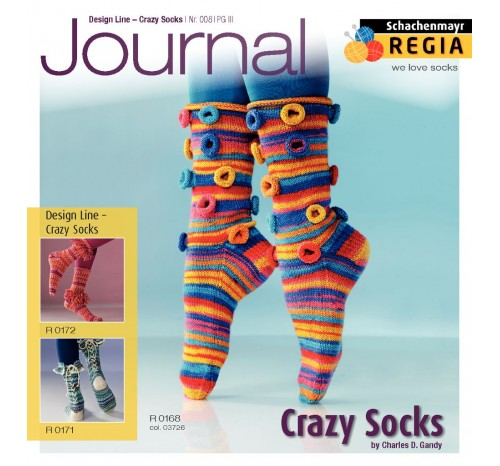 Journal 008 Design Line - Crazy Socks
