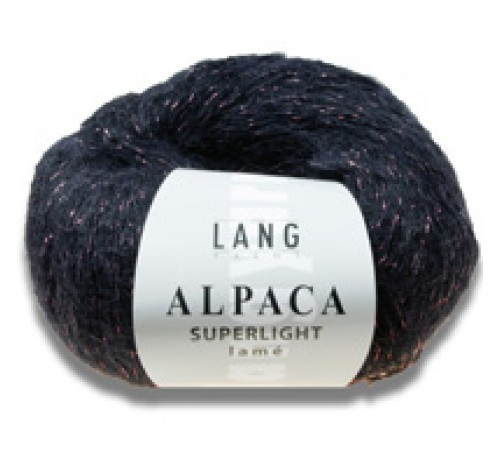 Alpaca Superlight Lamé von Lang Yarns