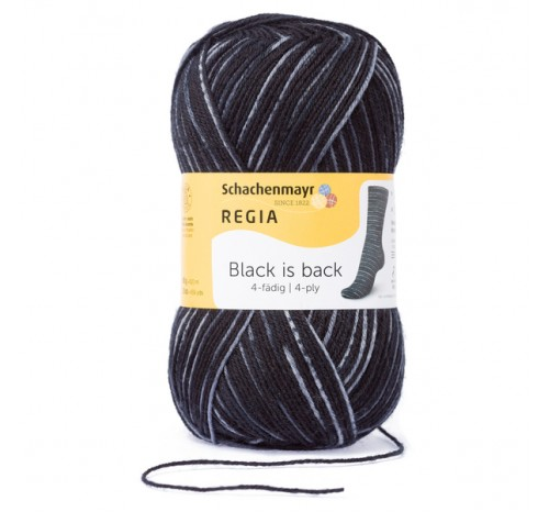 Regia Black is Back Color 4-fädig
