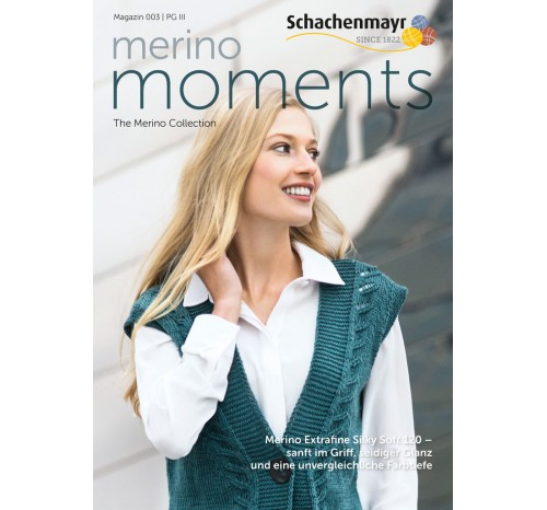 Magazin 003 Merino Moments - Merino Extrafine Silky Soft