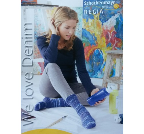 Regia We love Denim 4-fädig, 100g